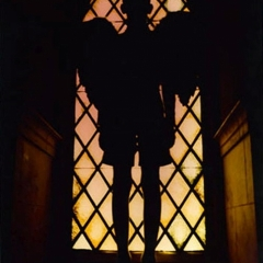 Series: Imbued between Night and Day, Angel in the Window, Chromogenic Print
