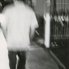 Don't Turn Your Back, Gelatin Silver Print