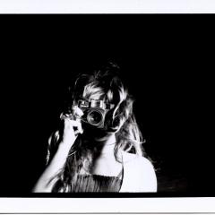 Series: Papparazo, Camera Girl, Gelatin Silver Print